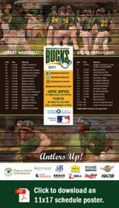 2017 Brookhaven Bucks Schedule